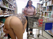 naked woman in walmart - sexy video
